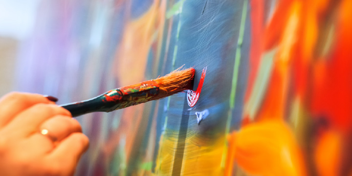3Dバーチャルギャラリーでアートや写真など作品を発表