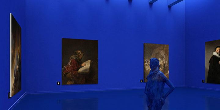 ギャラリスト3D:ギャラリーデザイン「BLUE」
