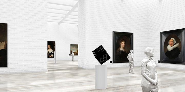 ギャラリスト3D:ギャラリーデザイン「WHITE」